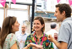 Elly De Decker (centre) is set to become The National Lottery Community Fund's new England Director (1)