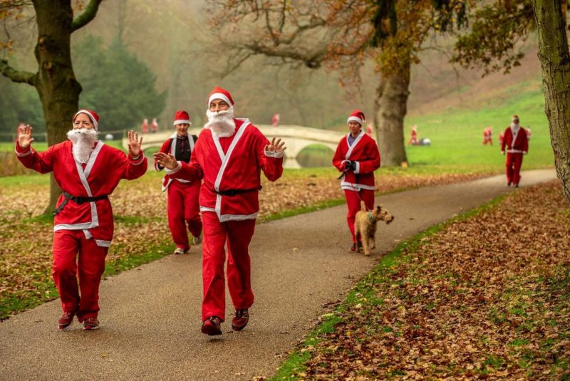 Santa Fun Run - Princess Alice Hospice