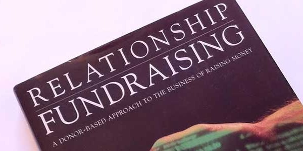 Detail of cover of Relationship Fundraising by Ken Burnett