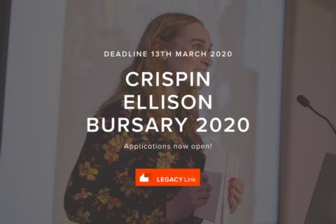 Crispin Ellison Bursary Award 2020