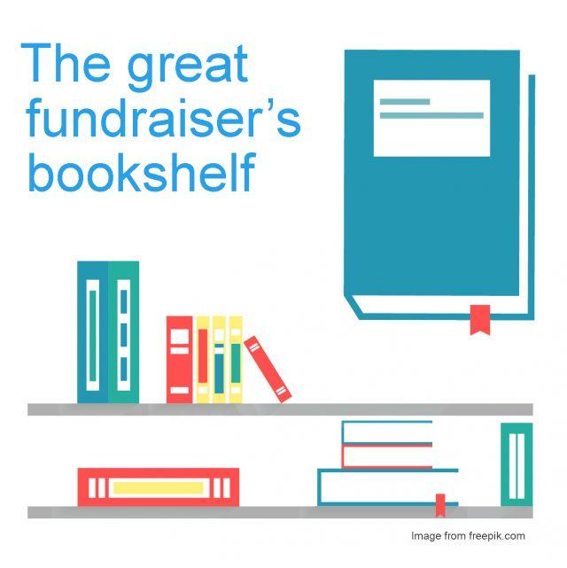 The great fundraiser's bookshelf
