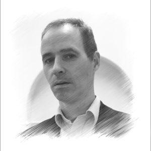 John Green - black and white photo