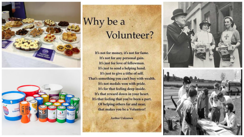 Why be a volunteer? Collage