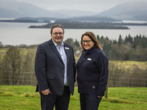 CHAS gifted 133-acre Scottish estate & £1m cash