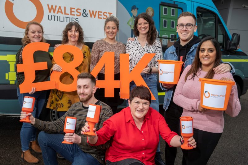 Wales & West Utilities hits a fundraising high