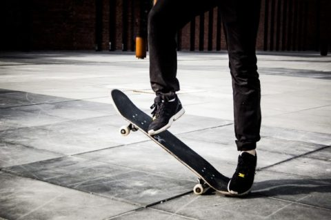 skateboard teenager