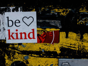Be Kind… within our sector too