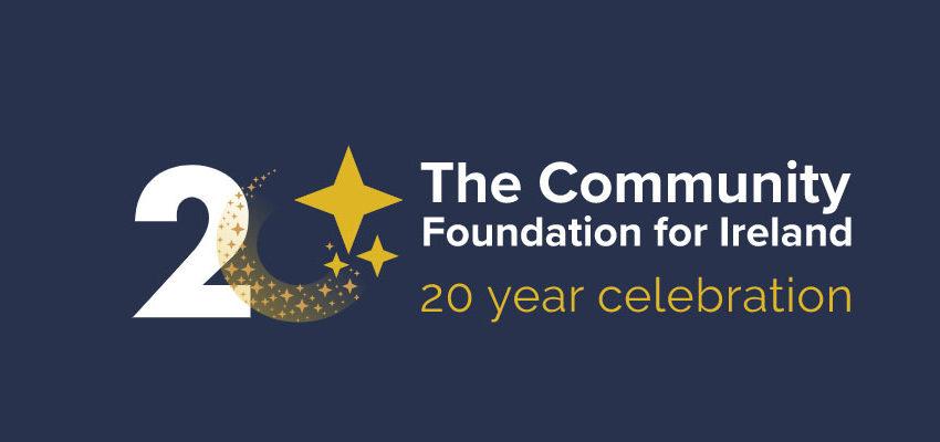 Community Foundation for Ireland 20th anniversary logo