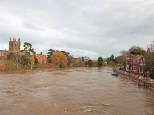 Prepaid cards distribute charity funds to Herefordshire flood victims