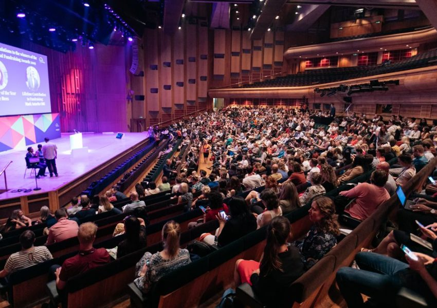 Fundraising Convention - the Barbican concert hall