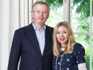 Julia and Hans Rausing donate £16.5 million to Covid-19 causes