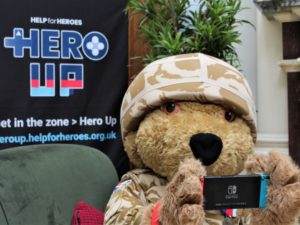 Help for Heroes asks gamers to Hero Up to support wounded veterans