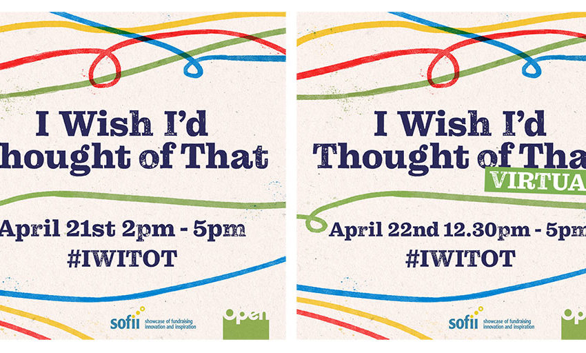 Two IWITOT events for April 2020