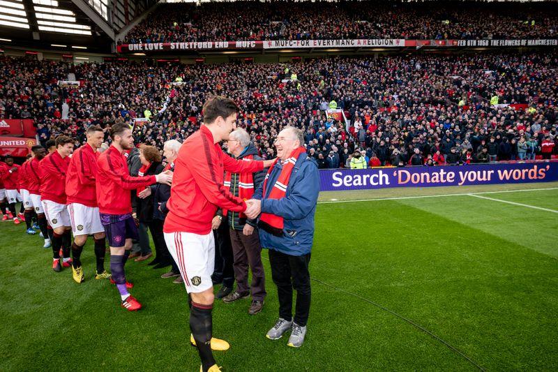 MUFC Cadbury handshake