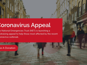National Emergencies Trust launches coronavirus appeal