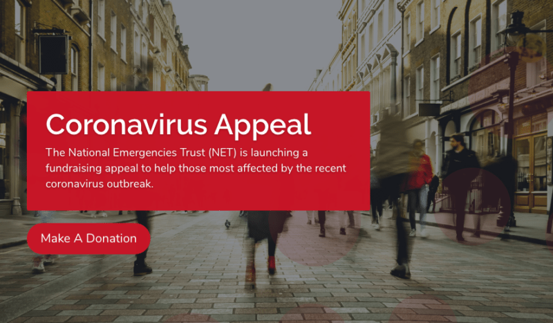 NET coronavirus appeal