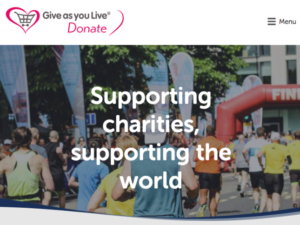 Give as you Live Donate cancels donation fees for food banks