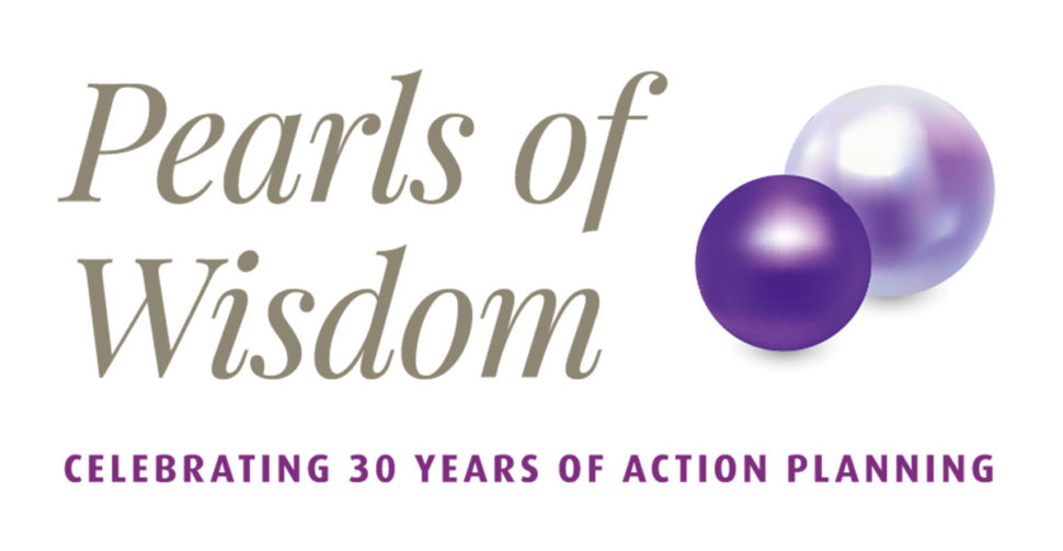 Action Planning's Pearls of Wisdom logo