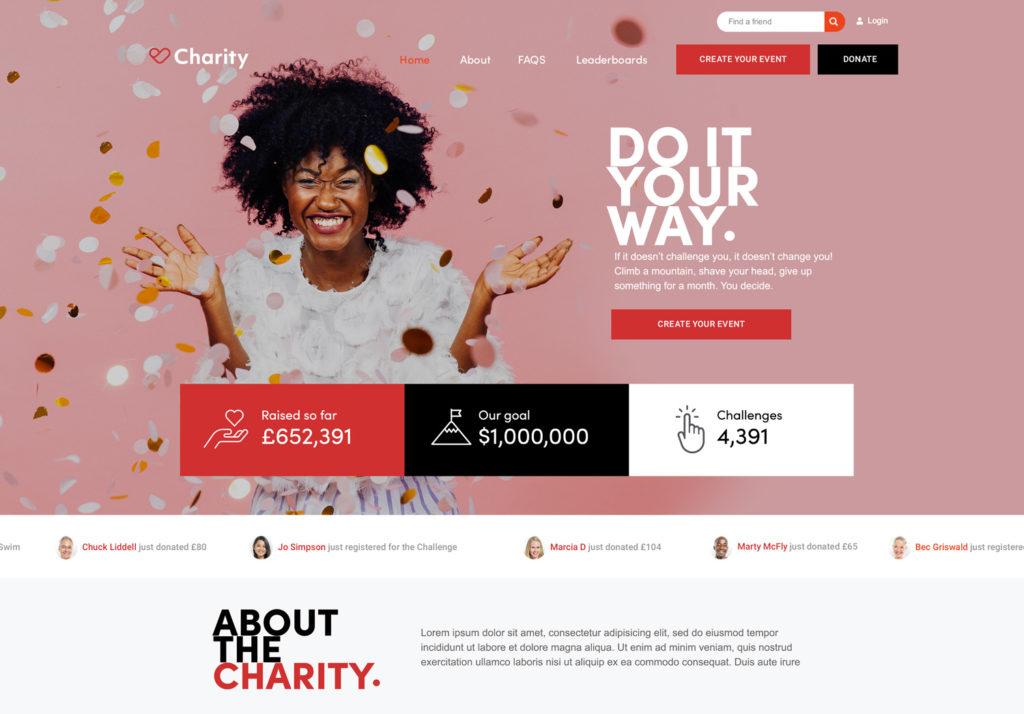 Sample Fundraisin fundraising campaign
