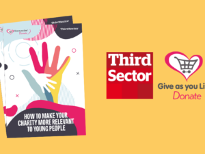 Give As You Live research advises how charities can engage better with younger people