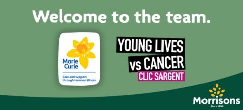 Morrisons Marie Curie and Clic Sargent