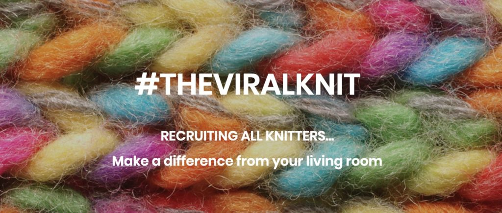 The Viral Knit campaign