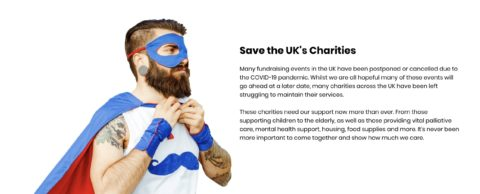 2.6 Challenge aims to save the UK's charities!