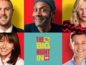 The Big Night In raises over £27million