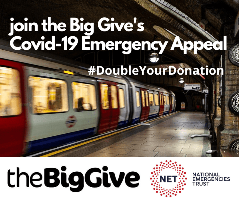 Big Give Double Your Donation Covid-19 Emergency appeal
