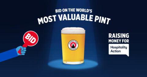 Camden Brewery Most Valuable Pint auction