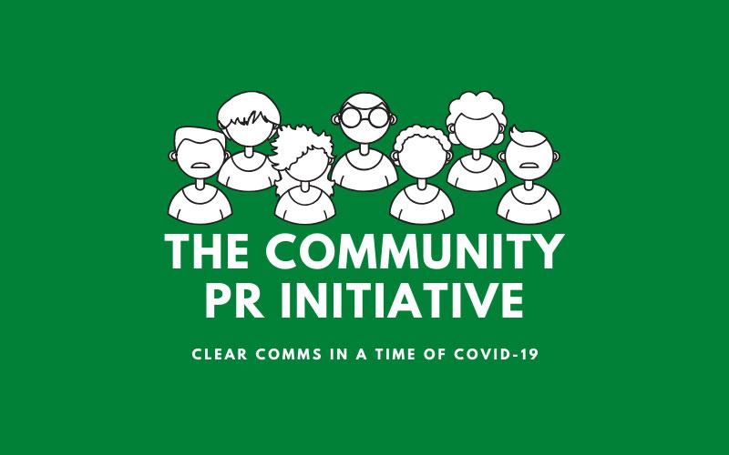 Community PR Initiative logo
