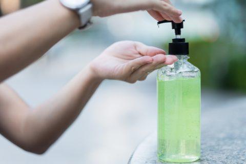 Hand sanitiser - photo: Stockphotosecrets.com