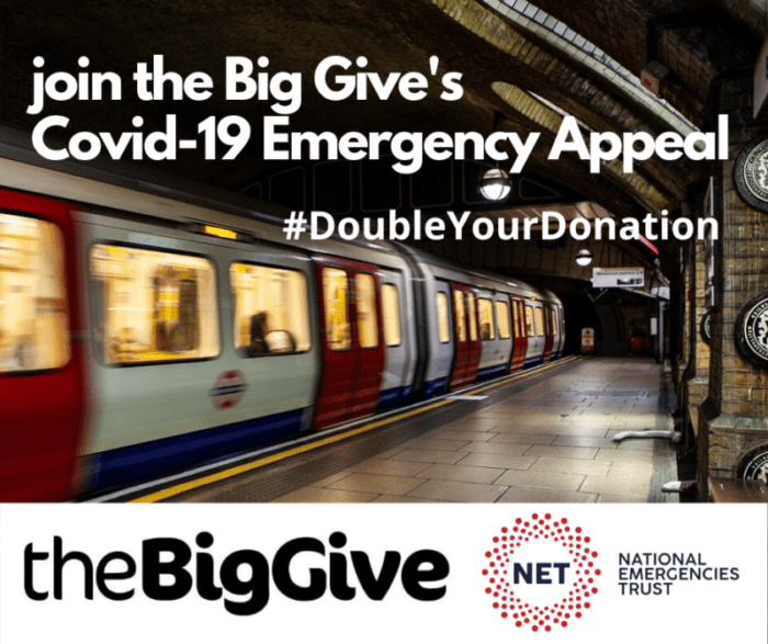 The Big Give Covid-19 appeal