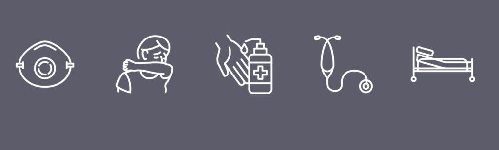 Coronavirus icons from Iconfinder