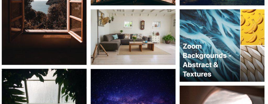 Pexels Zoom backgrounds