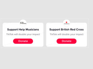 TikTok creators can now use donation stickers in their videos and livestreams