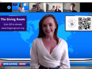 The Giving Room launches to turn video meetings into fundraising opportunities