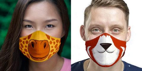 Cincinnati Zoo animal face masks