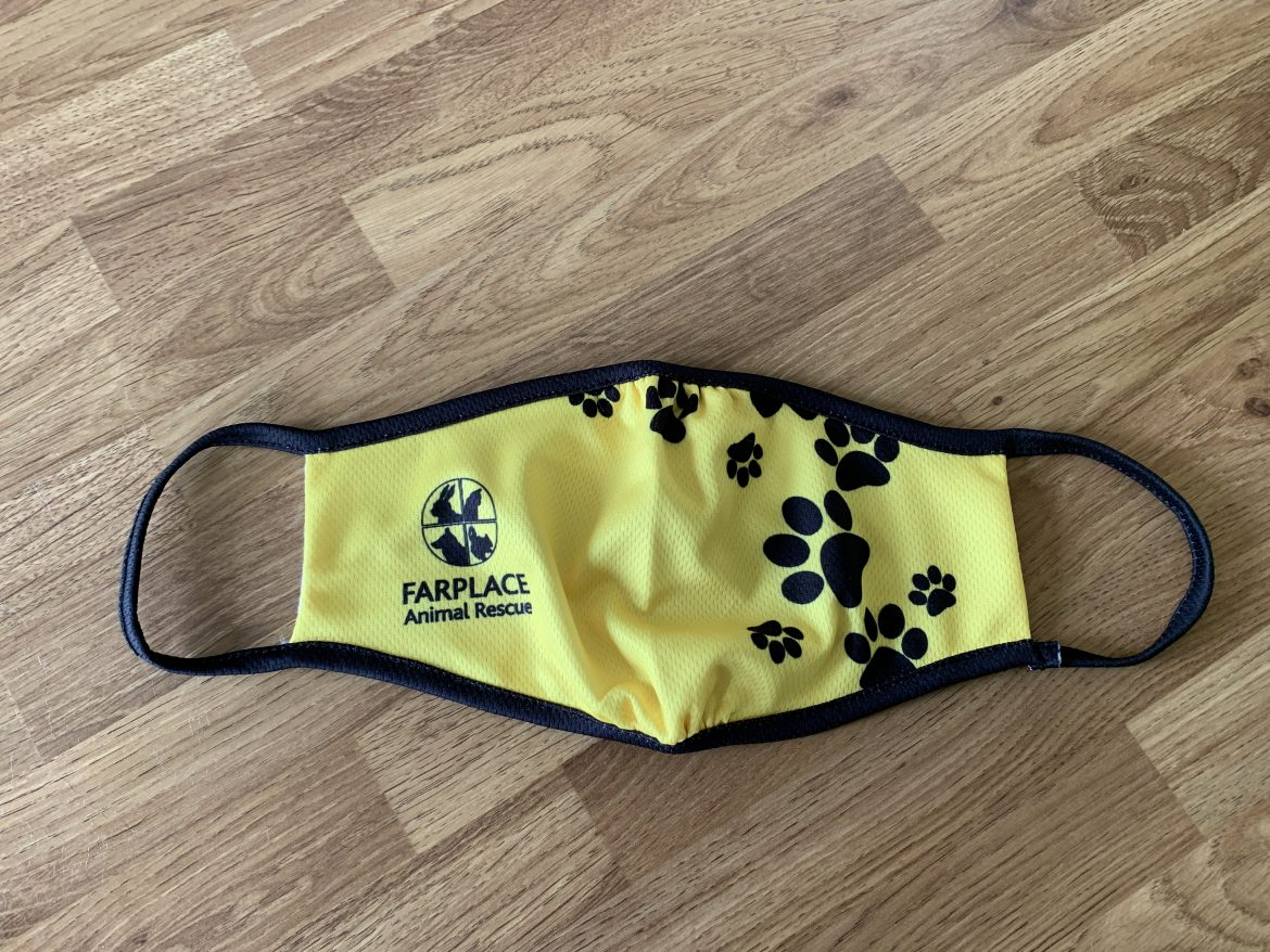 Faceplace Animal Rescue face mask
