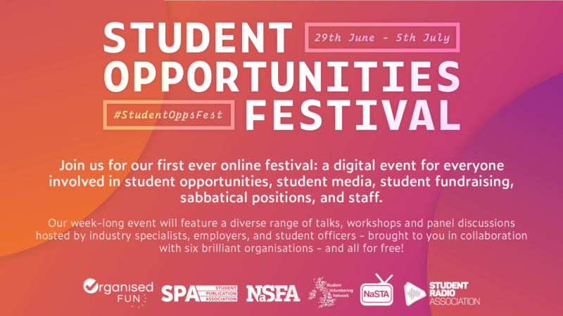 Student Opportunities Festival