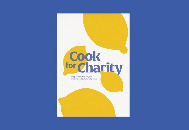 Cook for Charity - Book Cover