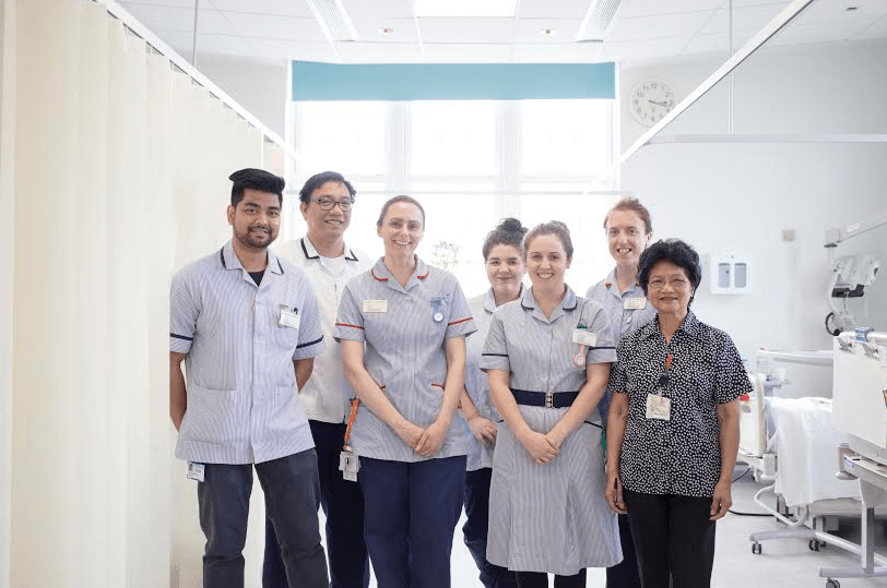 Royal Marsden staff