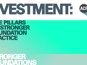 Responsibility for investments sits with every trustee, says ACF report