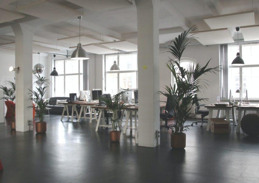 Empty office - photo: pexels.com