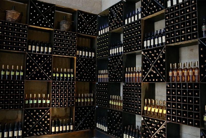 Wine cellar in Rioja