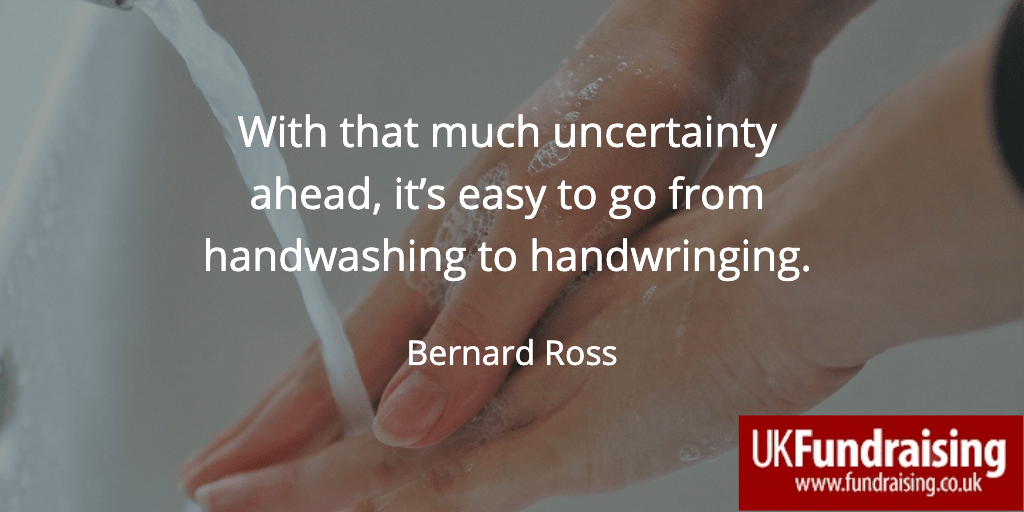 Uncertainty quote by Bernard Ross
