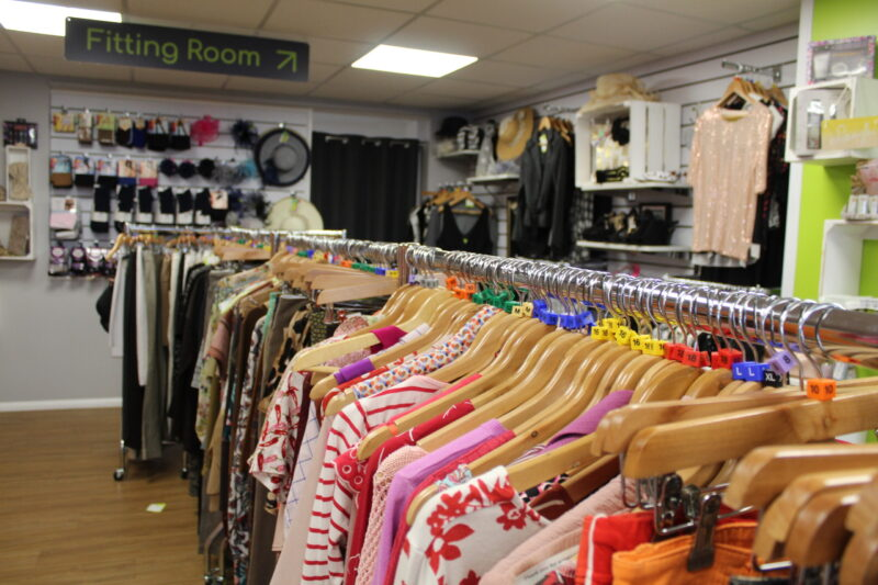 Inside of St Elizabeth Hospice Heath Road charity shop - CREDIT St Elizabeth Hospice