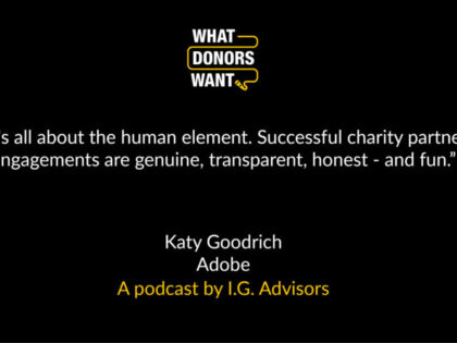 What Donors Want – Season 3, Episode #5: Adobe