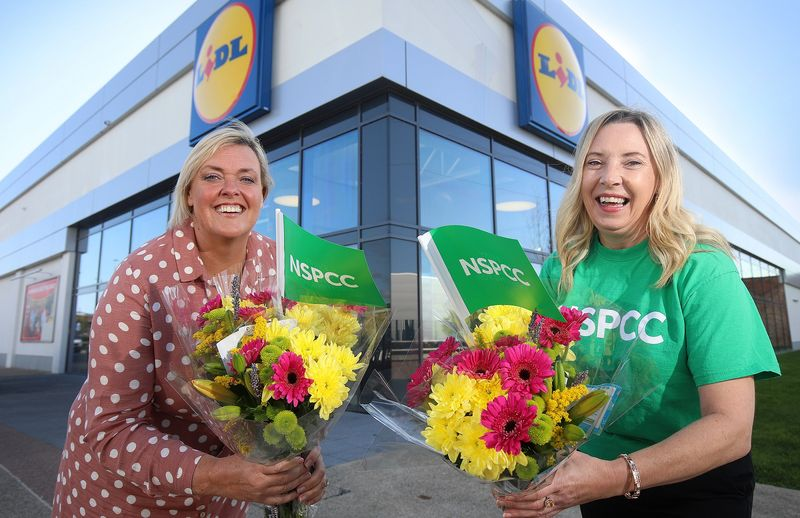 Lidl Northern Ireland Charity Partnership With NSPCC Blossoms