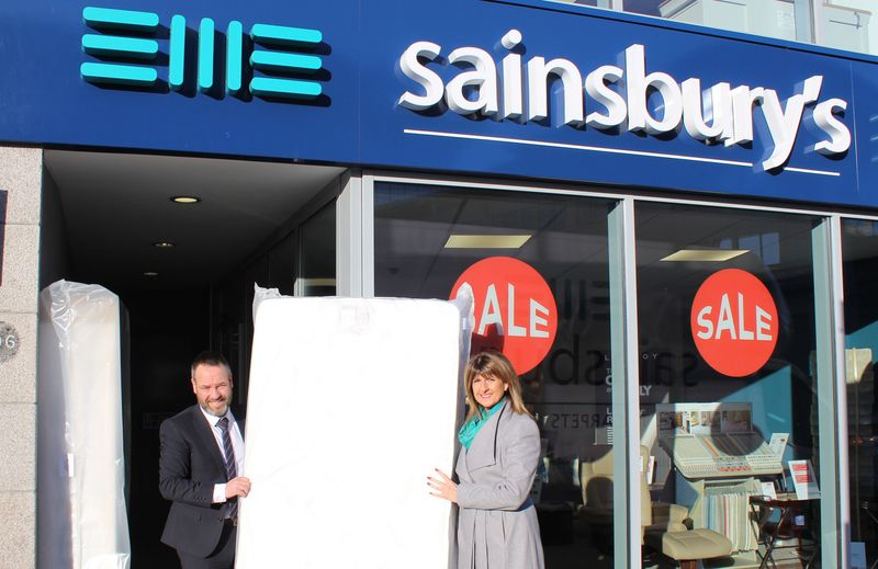 Sainsbury's Furniture Store & Michelle Herd
